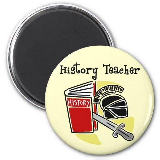 History Teacher Gifts Fridge Magnets