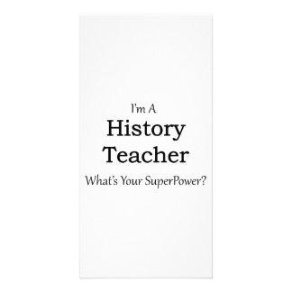 History Teacher Photo Card