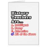 History Teacher Quiz...Joke