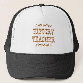 History Teacher Trucker Hat