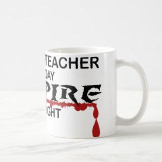 History Teacher Vampire by Night Coffee Mug