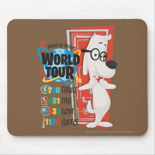 History World Tour Mousepad