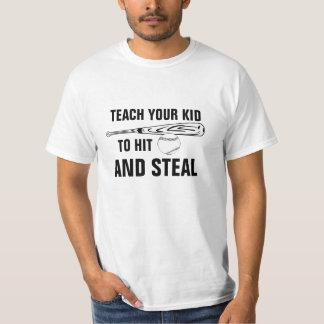 Hit and Steal Baseball T-Shirt