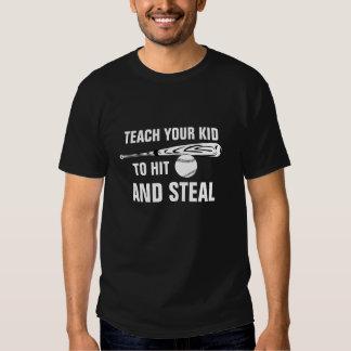 Hit and Steal Baseball Tshirt