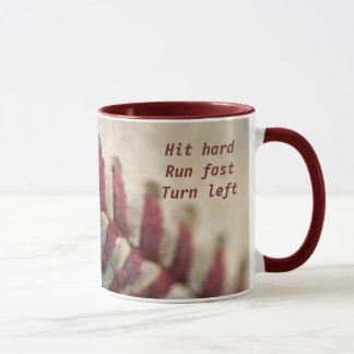 Hit hard, run fast ... mug