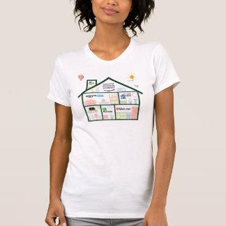 Hit Home (Womens American Apparel) T-Shirt