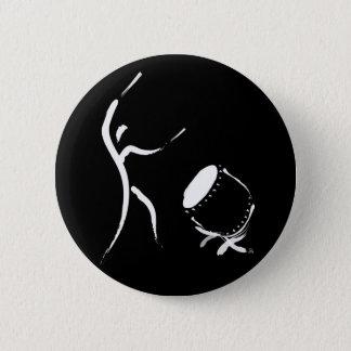 Hit It (Taiko Button) 6 Cm Round Badge