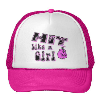 Hit Like A Girl Hat