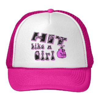 Hit Like A Girl Hat