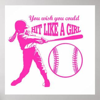 Hit Like A Girl Poster