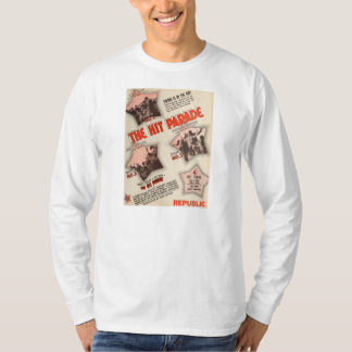 Hit Parade 1937 movie Eddie Duchin exhibitor ad Tee Shirt