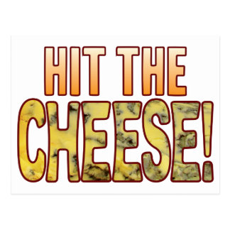 Hit The Blue Cheese Postcard