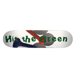 Hit the Green Skate Decks