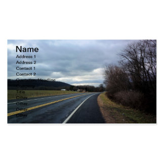 Hit The Highway Business Card Templates