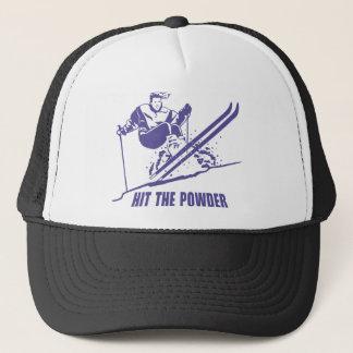 Hit The Powder - Snow Skiing / Skier Trucker Hat