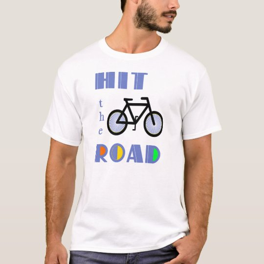 Hit the Road Cycling T-Shirt
