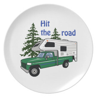 Hit The Road Dinner Plates