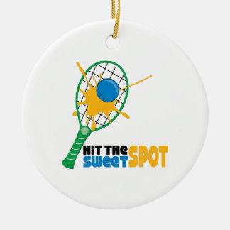 Hit The Sweet Spot Christmas Ornament