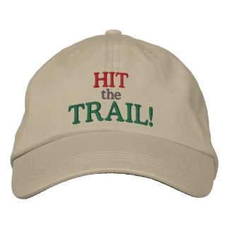 Hit the Trail! Embroidered Hat