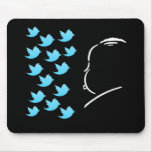 Hitch and Tweets Mouse Pad