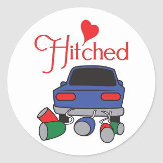 HITCHED ROUND STICKERS