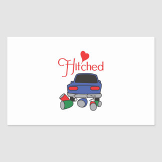 HITCHED RECTANGULAR STICKERS