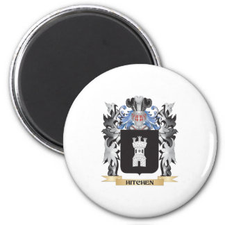 Hitchen Coat of Arms - Family Crest 6 Cm Round Magnet