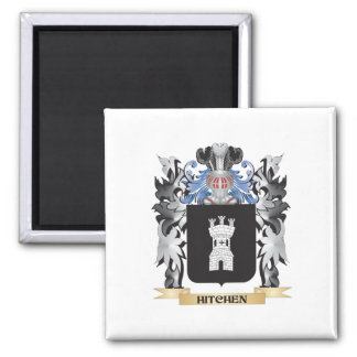 Hitchen Coat of Arms - Family Crest Square Magnet
