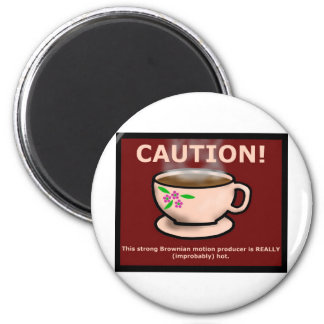 Hitchiker's Guide Hot Tea 6 Cm Round Magnet