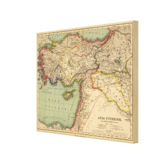 Hither Asia Canvas Print