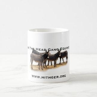 Hithger trio of donkeys mug