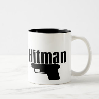 hitman two tone mug