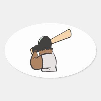 Hitter Oval Sticker
