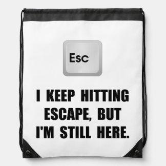 Hitting Escape Key Backpacks