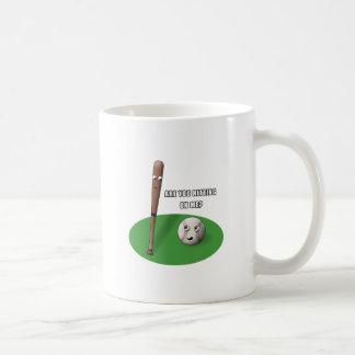Hitting on Me Coffee Mug