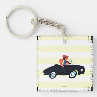 Hitting the Open Road 3 Key Ring