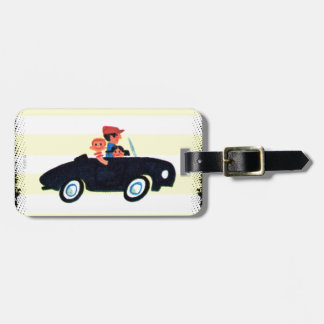 Hitting the Open Road 3 Luggage Tag