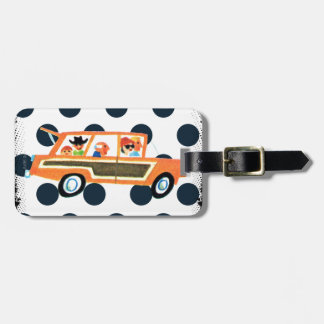 Hitting the Open Road 4 Luggage Tag