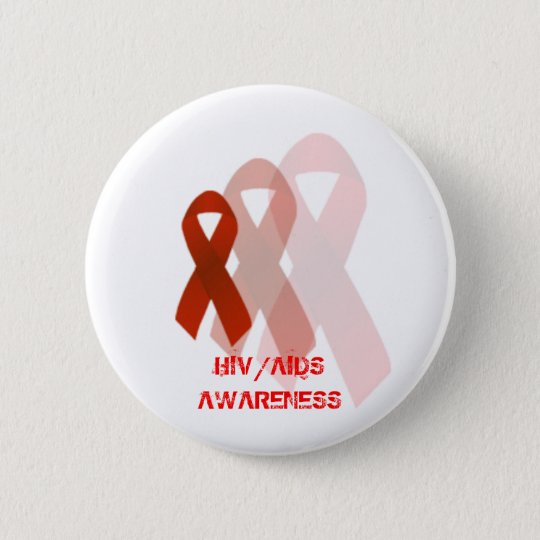 HIV/AIDS Awareness Button