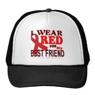 HIV AIDS AWARENESS  for BEST FRIEND Awareness T Cap