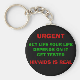 HIV/AIDS AWARENESS Keychain - Customized