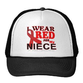 HIV AIDS AWARENESS NIECE T Shirts Trucker Hats