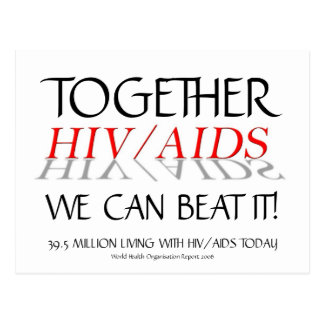 HIV/AIDS Together we can beat it! | Postcard