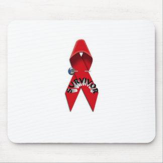 HIV and AIDS Survivor Mouse Pad
