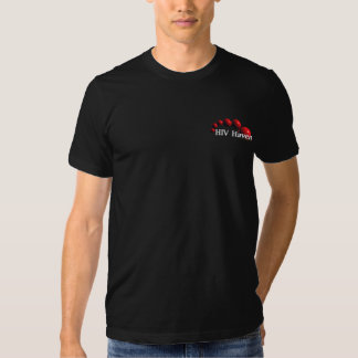 HIV Haven Black T-Shirt M. and F.