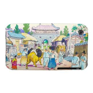 Hiyoshi Mamoru Korean  Market japanese scenery art iPhone 3 Covers