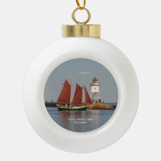 Hjordis & Grand Marais Light ornament