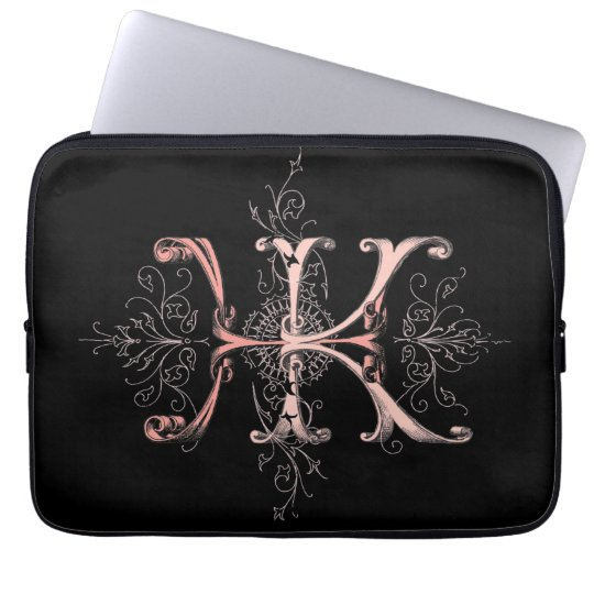 HKH Monogram Laptop Sleeve