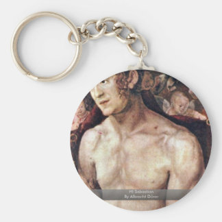 Hl Sebastian By Albrecht Dürer Key Chains