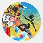 hlhw_002 round sticker